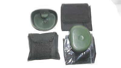 Original (x1) Collapsible 200 ml Swedish Cup with Belt Pouch OLIVE