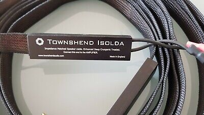Townsend DCT Isolda Speaker Cables Black 3M