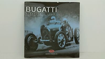 Bugatti A Racing History by David Venables, Haynes Publishing Hard Cover