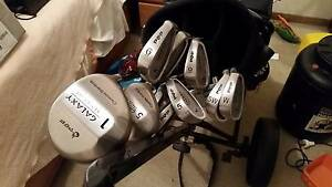 PGF GOLF CLUBS FULL SET BAG AND TROLLY Happy Valley Morphett Vale Area Preview