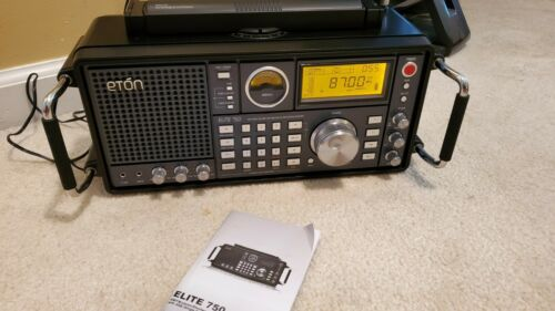 Eton Elite 750 AM/FM/LW/VHF/Shortwave with Single Side Band (SSB) Radio