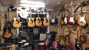 Come check out our great selection of guitars