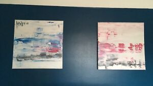 Two Abstract Canvass