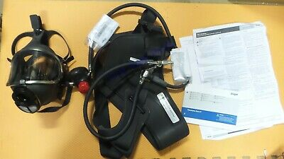Drager 4057628 Supplied Air Mask Draeger Pas Colt Respirator Panorama Nova New