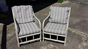 Cane Arm-chairs
