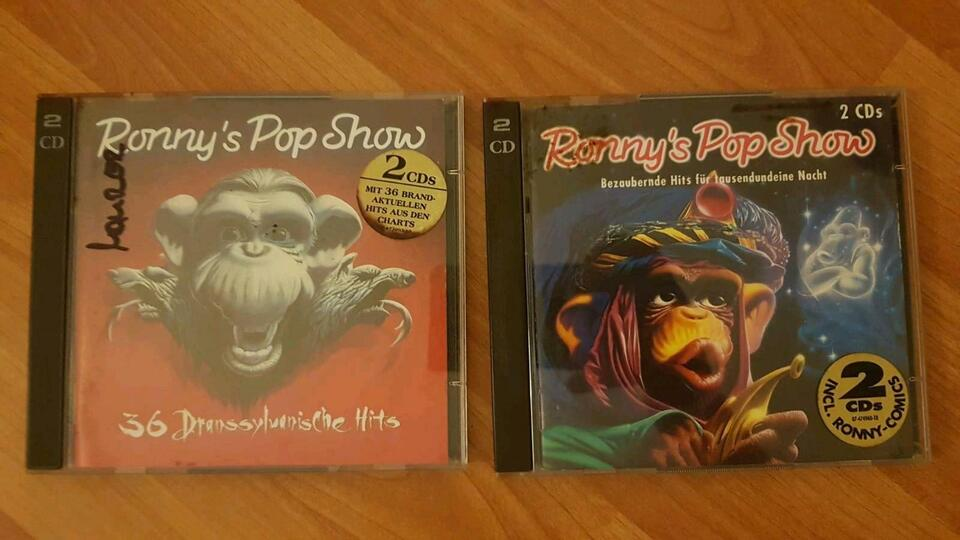 Ronnys Pop Show CDs in Ludwigshafen
