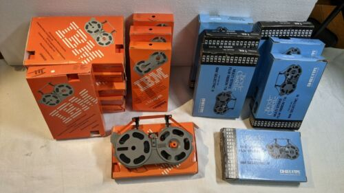 Lot of 17 IBM selectric III correctable/multistrike ribbon cartridges old unused