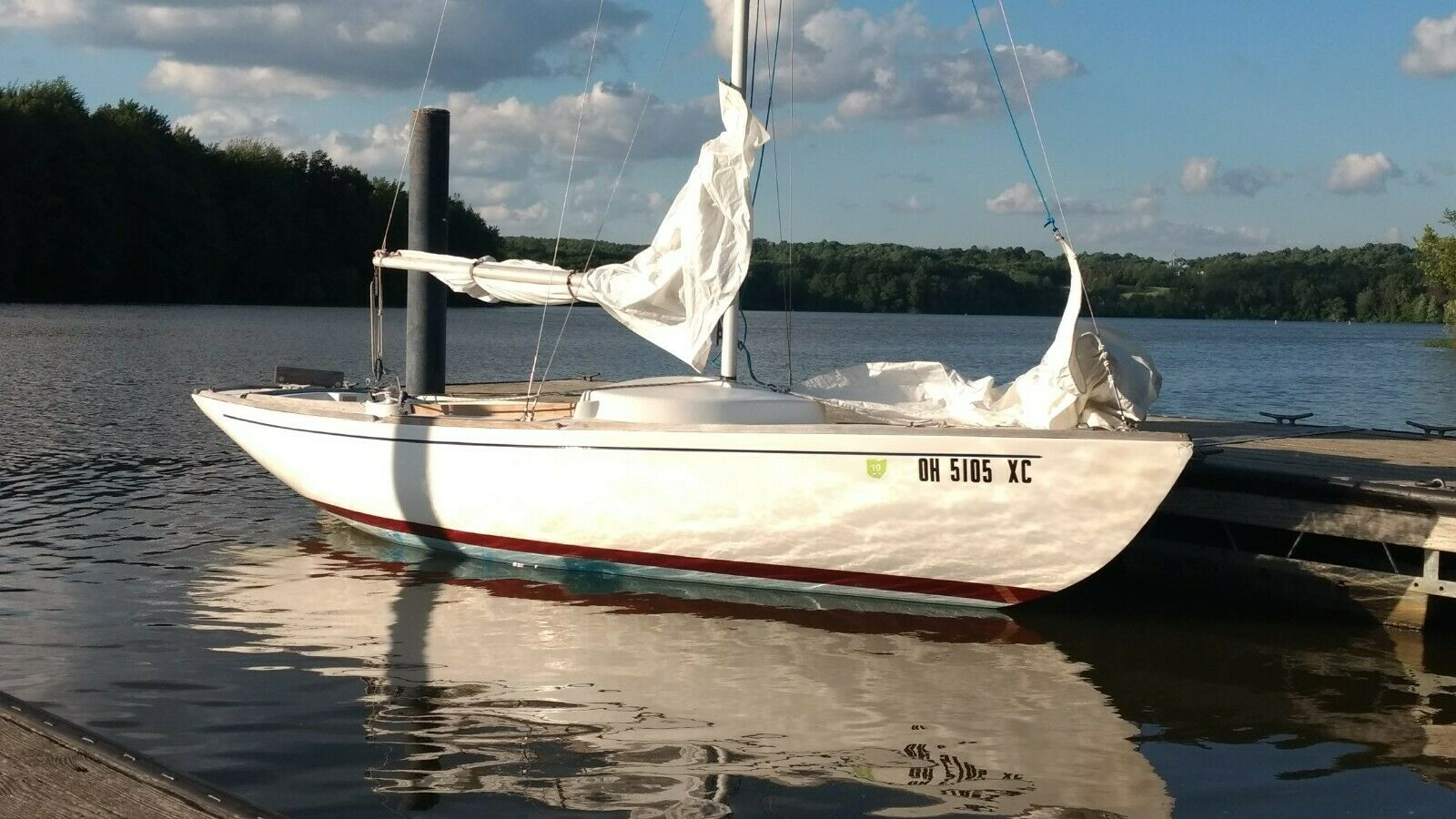 1977 McVay Minuet Sailboat with Trailer