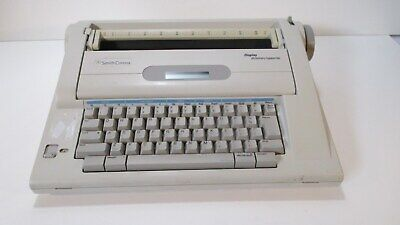 Smith Corona Na3hh Dictionary Typewriter Electronic Word Processor Tested