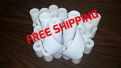 Verifone Vx520 2-14 X 50 Thermal Receipt Paper - 50 Rolls Free Shipping