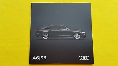Audi A6 S6 Sport Avant allroad SE Black sales brochure catalogue June 2017 MINT