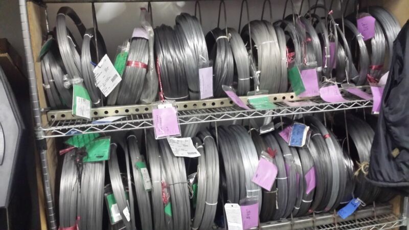 """SIZE .072"""" / 1.8mm 302 STAINLESS STEEL - 25 FEET  HIGH QUALITY SS SPRING WIRE"""