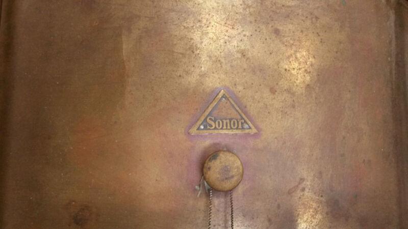 "Sonor ""Super Rare"" Brass Snare Drum-Turn of The Century"