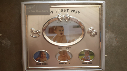 My first year - baby photo frame