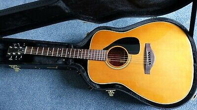 Yamaha FG-180 50th Anniversary Rare Acoustic Guitar with Hard Case