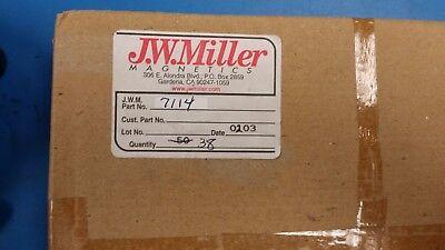 2 Pcs 7114 Jw Miller Common Mode Chokes Filters 2.55 Mh