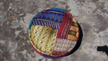 Large Fabric Ottoman Pouffe Cleveland Redland Area Preview