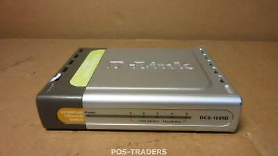 D-LINK DES-1005D - 5‑Port Fast Ethernet Unmanaged Desktop Switch - EXCL PSU