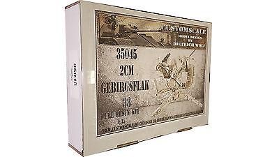1:35 35045 2cm Gebirgsflak 38  Resin Kit Custom-Scale