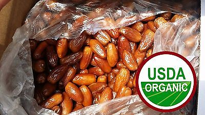 Pitted Deglet Noor dates, 20 LB Bulk , USDA certified Organic & Kosher
