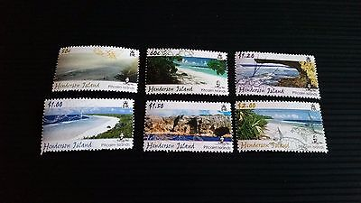 PITCAIRN ISLANDS 2005 SG 704-709 SCENERY (2ND ISSUE) MNH