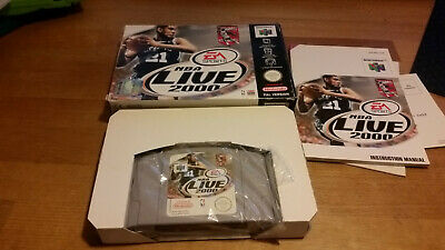 NBA Live 2000 Nintendo 64 N64 PAL OVP CIB #2