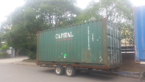 20ft shipping containers supplied and delivered Capital Hill South Canberra Preview
