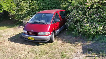 Toyota torago 8 seater