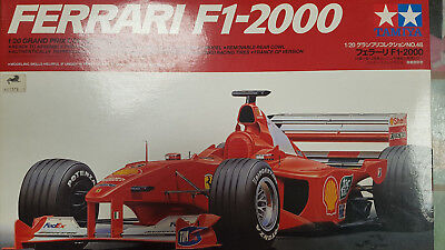 Tamiya 20049 1/20 FERRARI F1-2000 Full View Plastic Model Kit