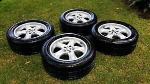 Only $500! BMW X5 Original Rims good Bridgestone Tyres 255/55 R18 East Lindfield Ku-ring-gai Area Preview