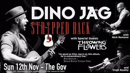 Dino Jag - Stripped Back + special guests Throwing Flowers
