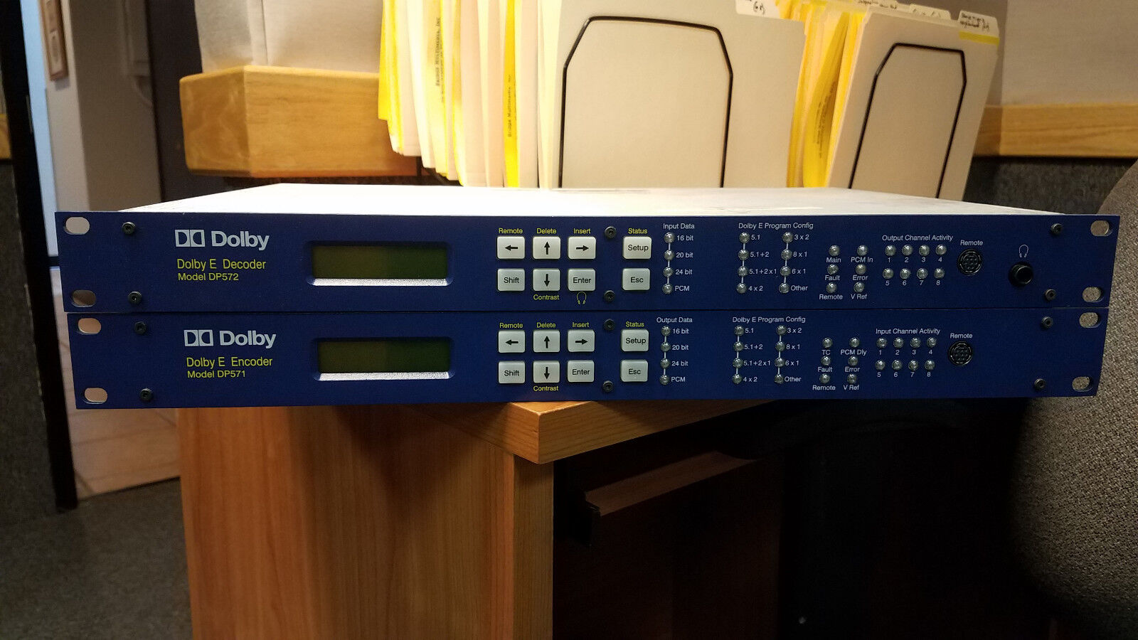 Dolby E Encoder and Decoder set. Models DP571 DP572 Used working