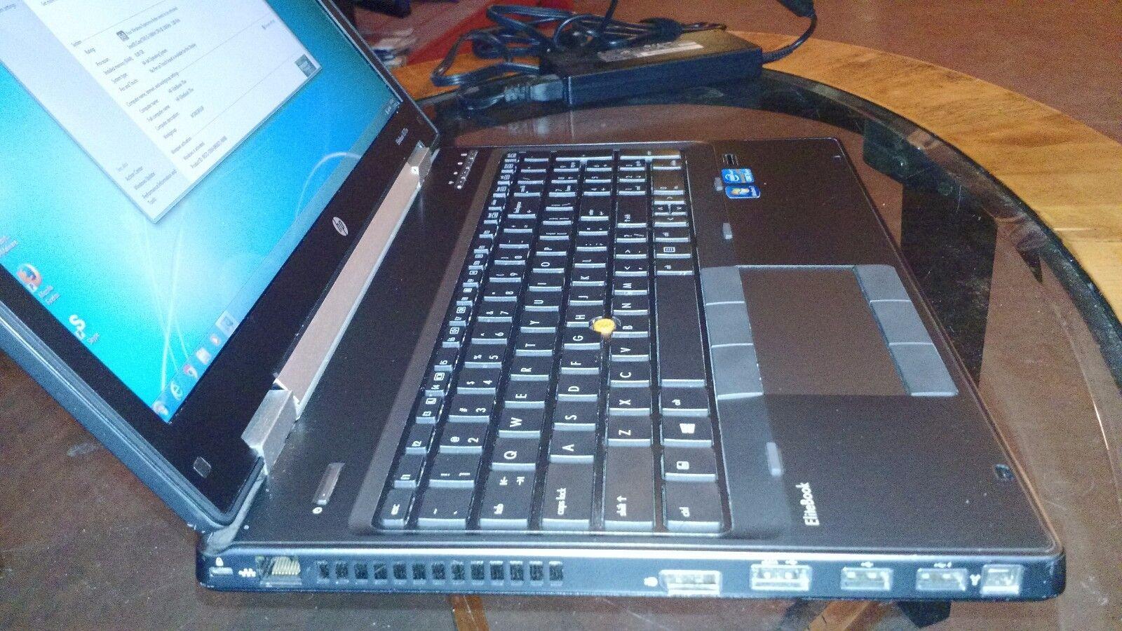 "Laptop Windows - HP EliteBook 8570w 15"" Biz Gaming Laptop Core i5 16GB Windows 7 Pro + Office 10"