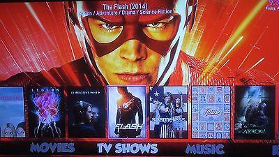 Amazon fire TV stick 2nd Gen upgraded Krypton 17.1w/ custom build 1-click movies