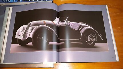 BMW coffee table books very rare