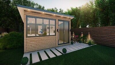 Insulated Garden Offices with Installation. NO PLANNING PERMISSION NEEDED!!!