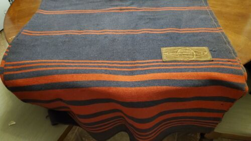 Vintage Beckman Co. Northern Ohio Mills Cleveland Horse Carriage Blanket Wool