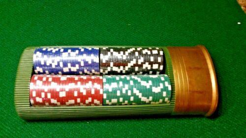 Porker Chip Game Tru Shot Gun Shell Holder Texas Holdem Christmas Fathers Day