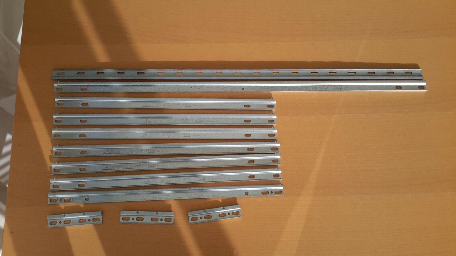 Aufhängeschiene, Schiene für Hängeschränke, verschiedene längen.  Neu