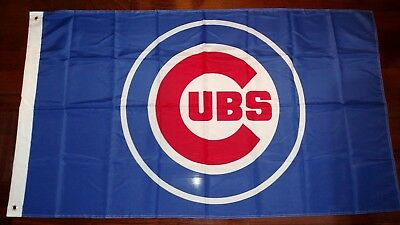 Chicago Cubs 3x5 Flag. US seller. Free shipping within the US!!! (Cubs Flag)