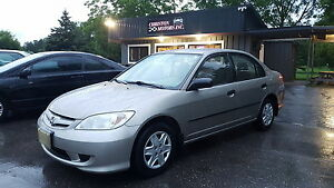 2005 Honda CIVIC LOW KMS! CERTIFIED ETESTED! $2999+taxes
