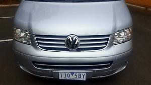 Volkswagen T5 Multivan 2007 2,5TDI  Caravelle Boronia Knox Area Preview