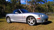 2002 Mazda MX-5, low km's, leather interior, air con Kenthurst The Hills District Preview