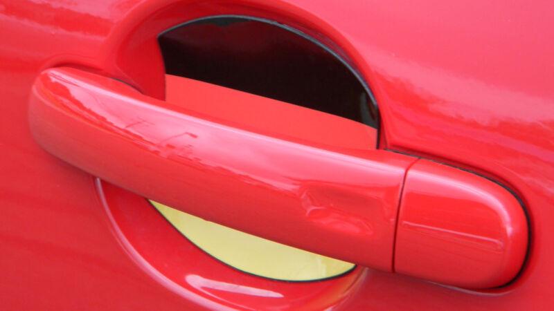 German Flag Auto Accessory Car Door Handle Scratch Protector Guard 4 Pcs USA