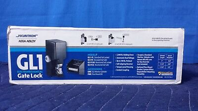 Securitron Assa Abloy Gl1-fl Electromechanical Gatelock 1224v 2000lb Ctsa