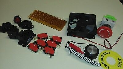 Electronics Accessory Kit For Gecko G540 Cnc Driver
