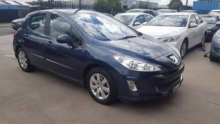 2008 Peugeot 308 Hatchback AUTO TURBO DIESEL LOW KMS Williamstown North Hobsons Bay Area Preview