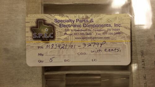 (1) M83421/01-3279P CRC CAPACITOR METALLIZED FILM POLYCARBONATE 100V 2.2uF Axial