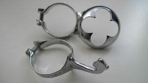 Vintage-NOS-Campagnolo-70s-Campagnolo-Chrome-Pump-Holder-kit-mint-Super-Shiny