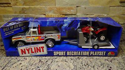 NIB 1999 Nylint #8274 Ford Ranger Off Road 4 wheeler Quad trailer pickup truck